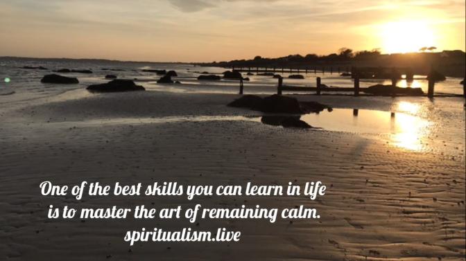 The gift of calmness
